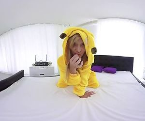 Playful Pickachu knows..