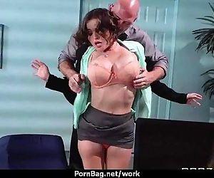 Busty working women..