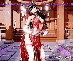 Anime hot Girls pique..