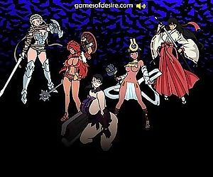 Queens Blade Flash Game..