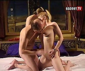 young blond give blowjob
