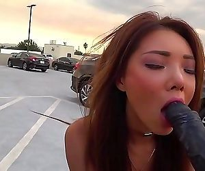 BBC CUM IN My MOUTH w..