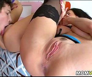 Threesome with stepmom..