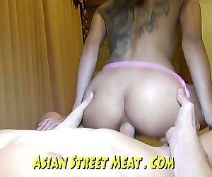 Tattoed Anal Fuck Toy..
