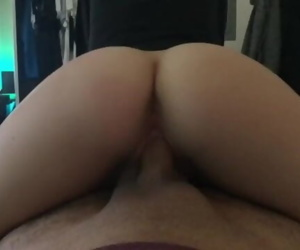 Teen Reverse Cowgirl Up..