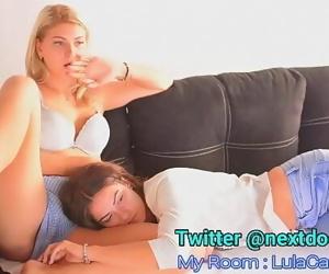 two beautiful lesbians..