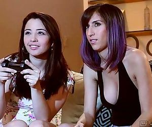Eva Sedona and April..
