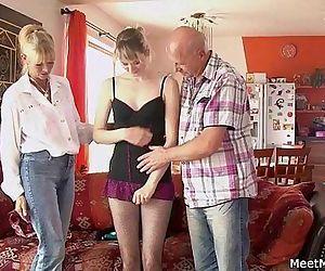 Perverted parents..