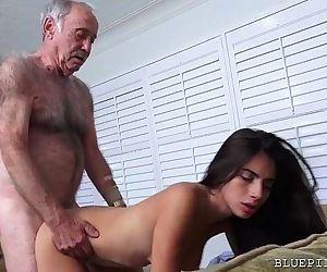 Latina Teen Fucks Old..
