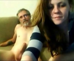 Old Father Fuck His..
