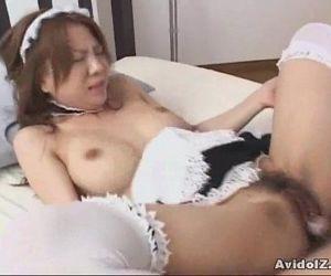Japanes babe fucked..