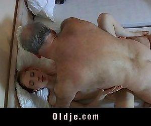 Old pervert man fucked..