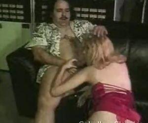Ron Jeremy blowjob