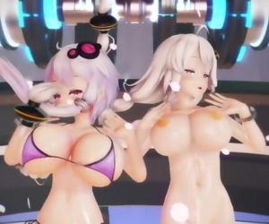 MMD SEX Kizuna Akari..