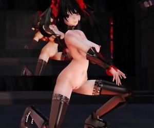 MMD Kurumi Tokisaki Toxic