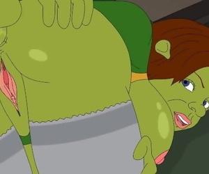 Hentai Shrek and Fiona..