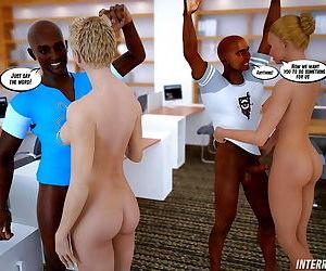 Interracial Lesson 3D..