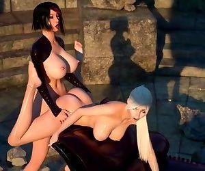 3D Dick girl fucking..