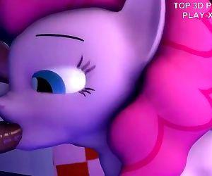 3D Hentai beauty pony..
