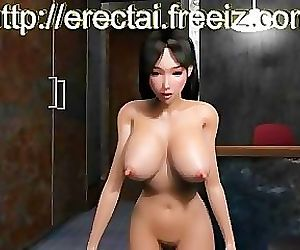 Hentai Girl 3D breast..