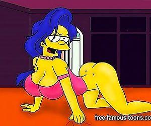 Marge Simpson hentai..