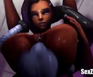 Sombra x Widowmaker 3D..