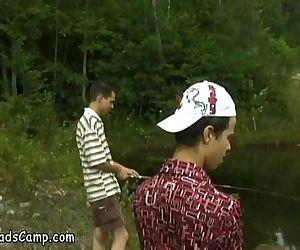 Unlucky young fishermen..