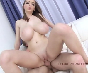 Barely legal babe with..