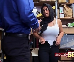 Arab babe is caught..
