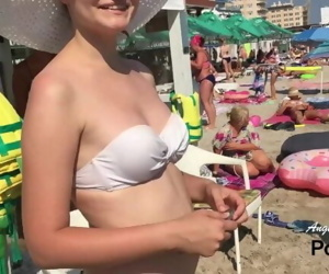 CRAZY PUBLIC BLOWJOB on..