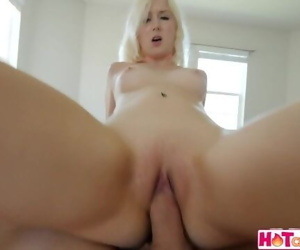 Young Blonde Boned By..