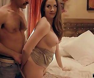Cheating husband fucks..