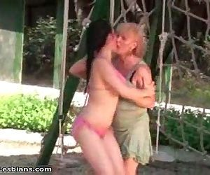old and young lesbians..