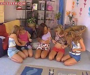 Teen Lesbian Orgy