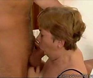 Granny Sucking it and..