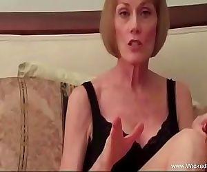 Horny Granny Makes A..