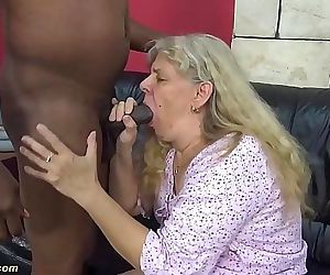 first time interracial..