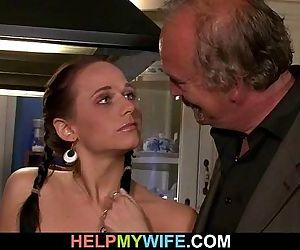 Hot wife sucks and..