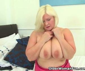 British granny Lacey..