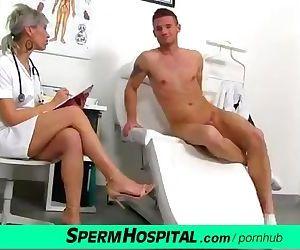 CFNM penis medical exam..