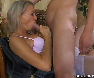 Russian mom with..