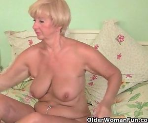 Grandma With Voluptuous..