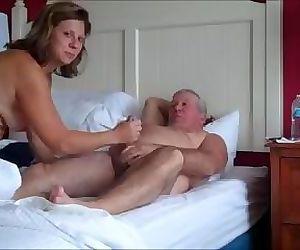 001 Mature couple sex