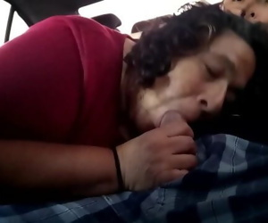 mom milking blowjob..