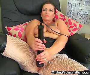 British milf Sam works..