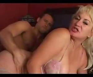 Big Tit Hairy Cunt Mom..