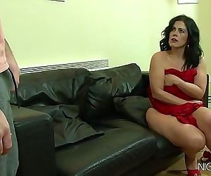 My stepmom masturbating..