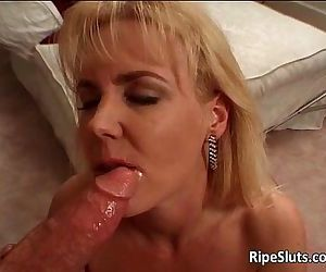 Sexy blonde MILF bitch..