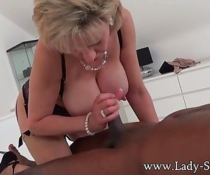 Lady Sonia black guy..