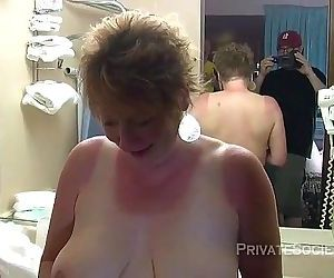 Aunt Kathy Tries Pussy